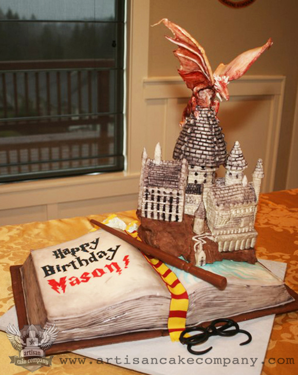 harry potter castle cake. 3D Cakes