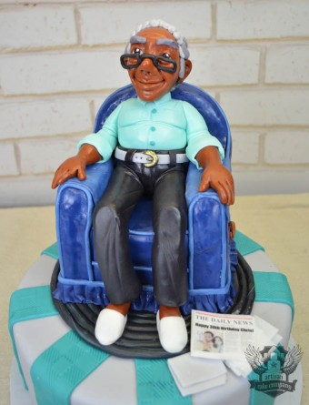Old Man Chair Cake
