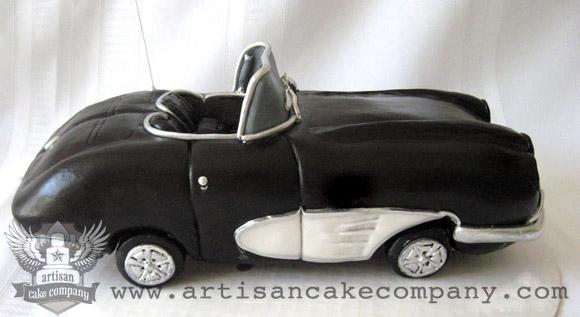 Corvette Car Birthday Cake Artisan Cake Company