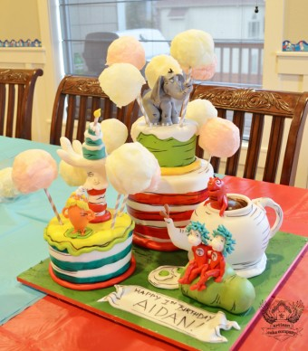 dr seuss birthday cake cotton candy