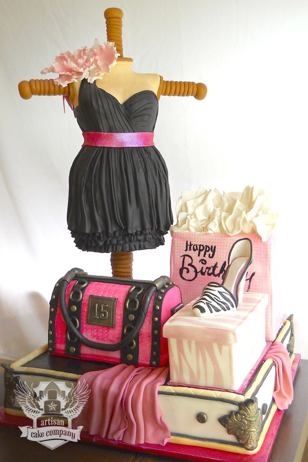 fashion_birthday_cake2 | Artisan Cake Company