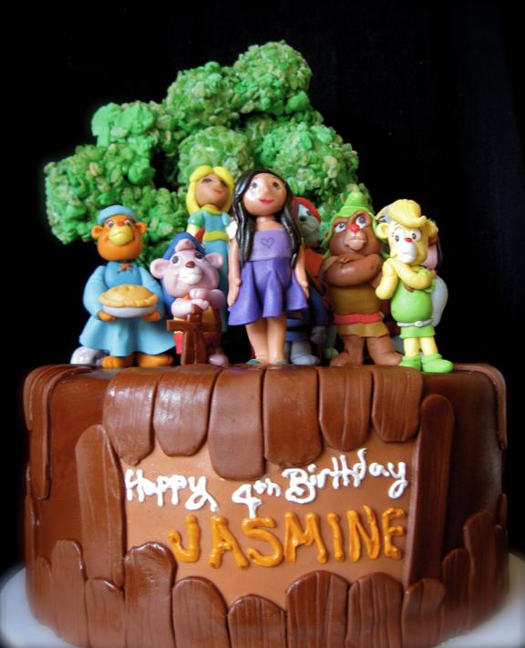 Gummi Bears Birthday Cake Artisan Cake Company