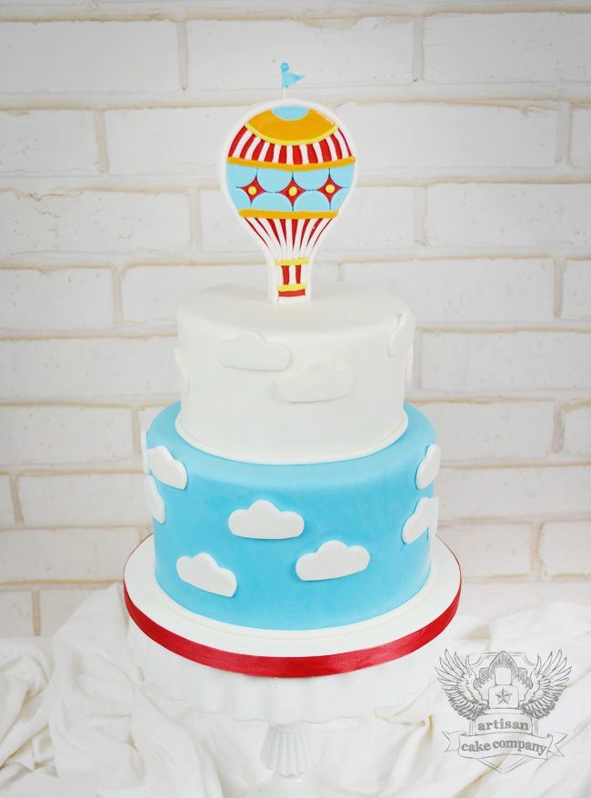 Hot Air Balloon Birthday Cake Artisan Cake Company