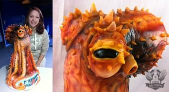 Portland Aquarium Octopus Cake
