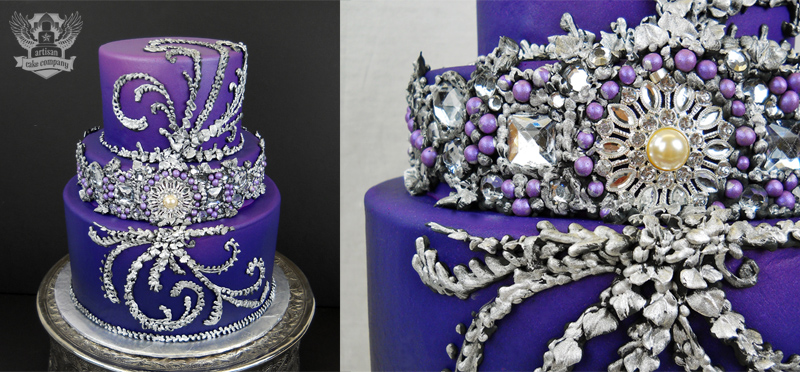 How To Make Edible Cake Bling