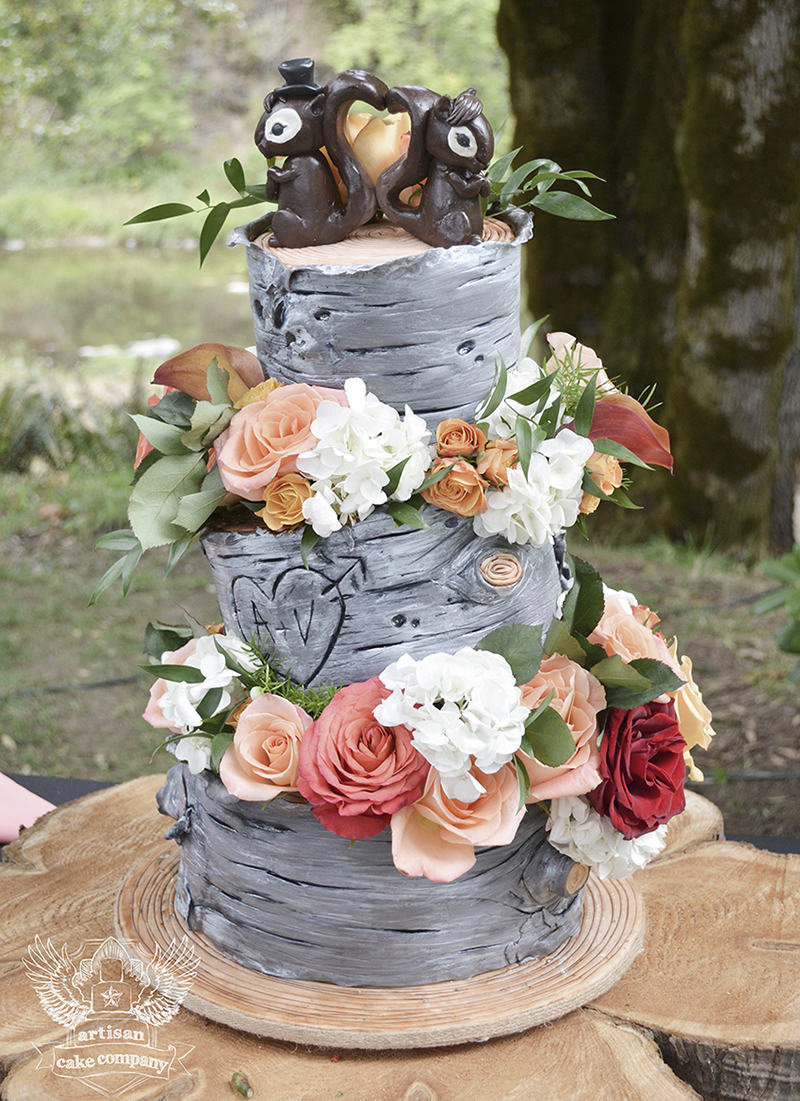 Artisan Cake Company : CAKES: Plants and Gardens, Multi-tier on Pinterest ...