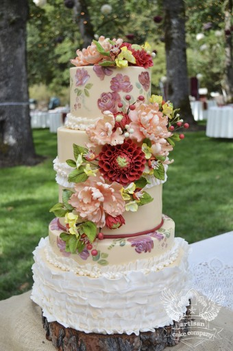 Artisan Cake Company : Wedding Cakes Artisan Cake Company