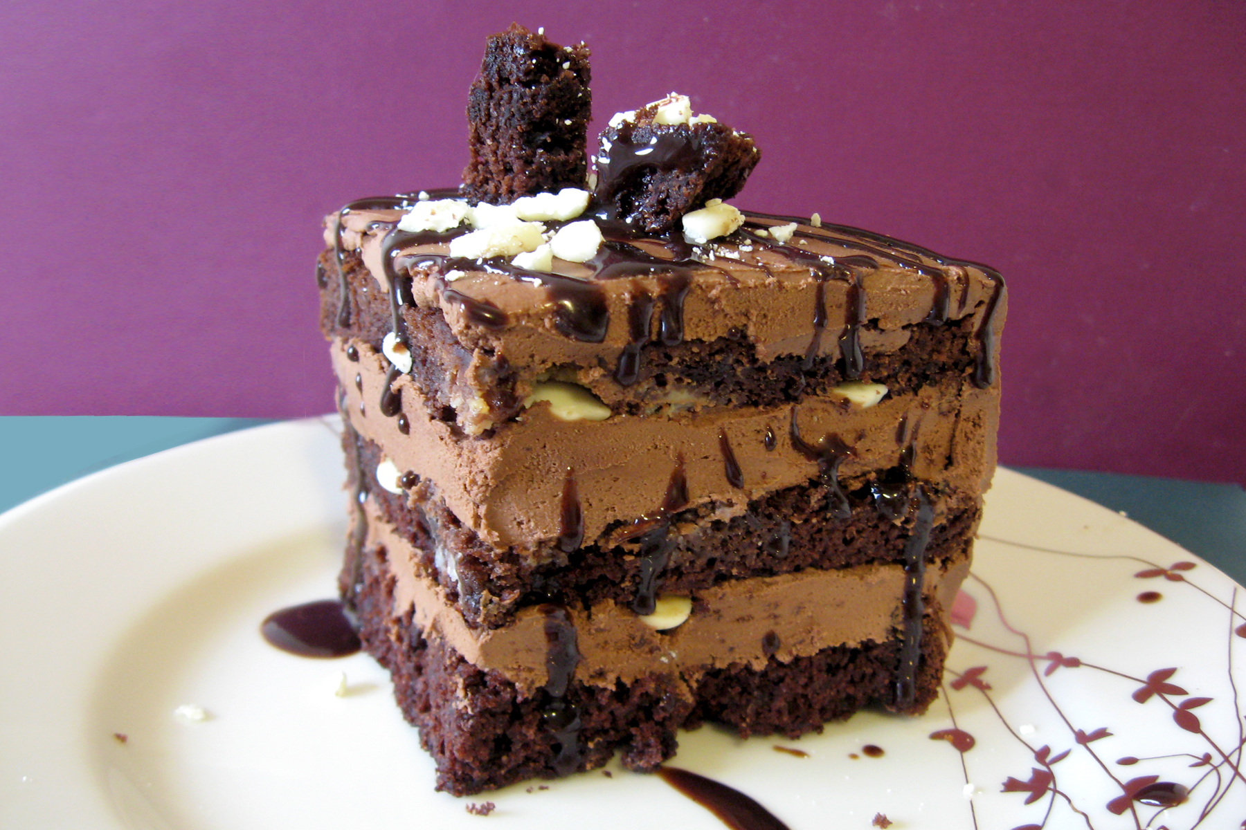 Chocolate Explosion Mousse Cake Recipe