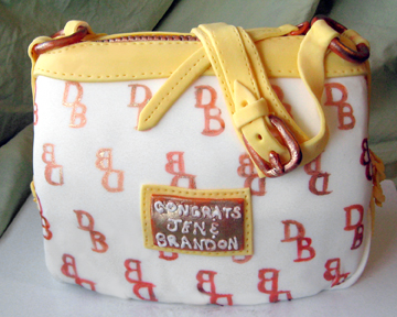 Dooney and Bourke Bag Cake | Artisan Cake Company