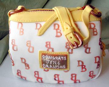 Dooney and Bourke Bag Cake   Artisan Cake Company