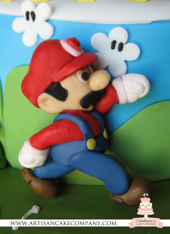 Super Mario Brothers Birthday Cake Artisan Cake Company