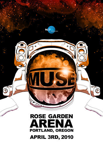 MUSE poster contest for 94.7 KNRK