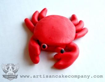Crab Cupcake Topper