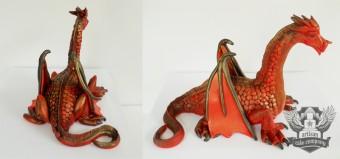 Dragon cake topper