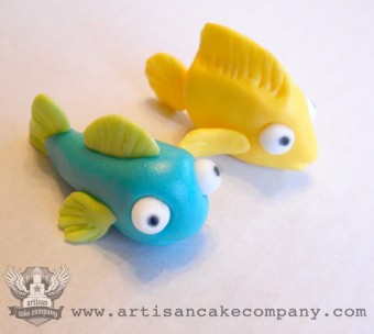 Fish Cupcake Toppers
