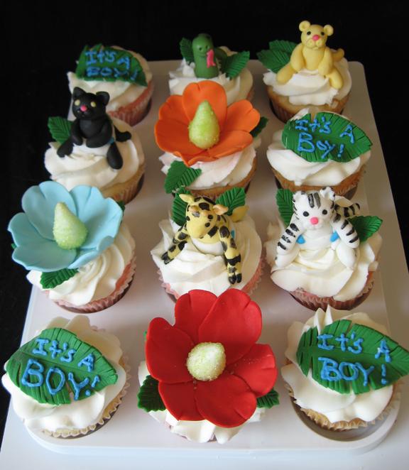Artisan Cake Company : jungle_cupcakes2 Artisan Cake Company