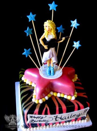 Taylor Swift Birthday Cake Topper Artisan Cake Company