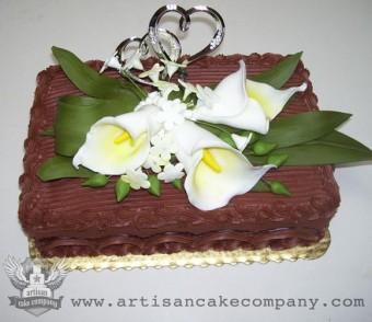 Gumpaste Cala Lillies Cake Topper