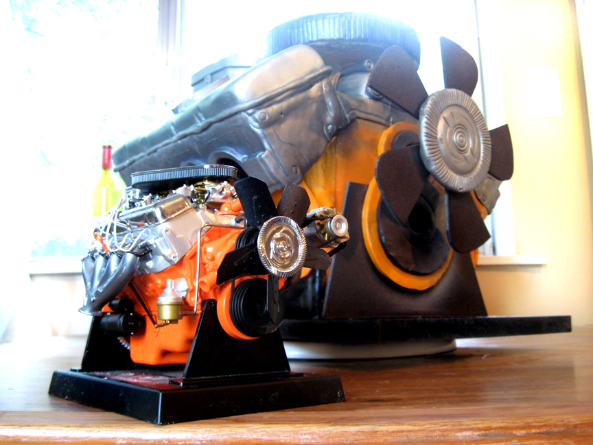 Car Engine Grooms Cake Aka The Beast Artisan Cake Company