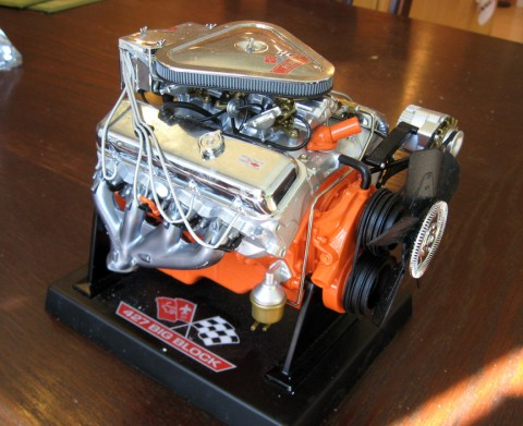 Car Engine Grooms Cake (aka the BEAST!)