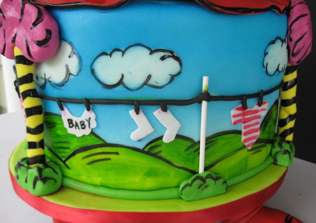 dr seuss themed baby shower cake artisan cake company