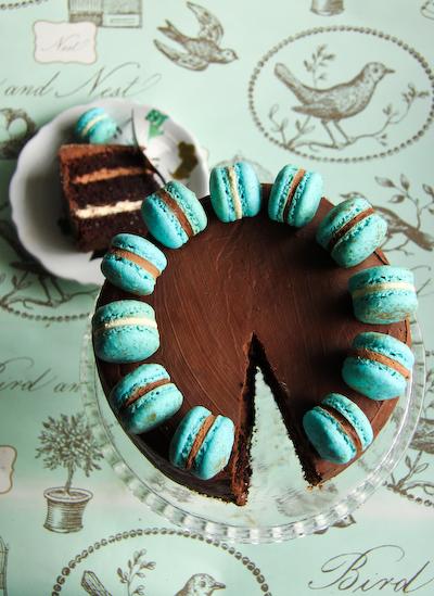 French Macaron Cakes!
