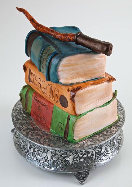 Harry Potter Book Cake ~ Harry potter cakes artisan cake company