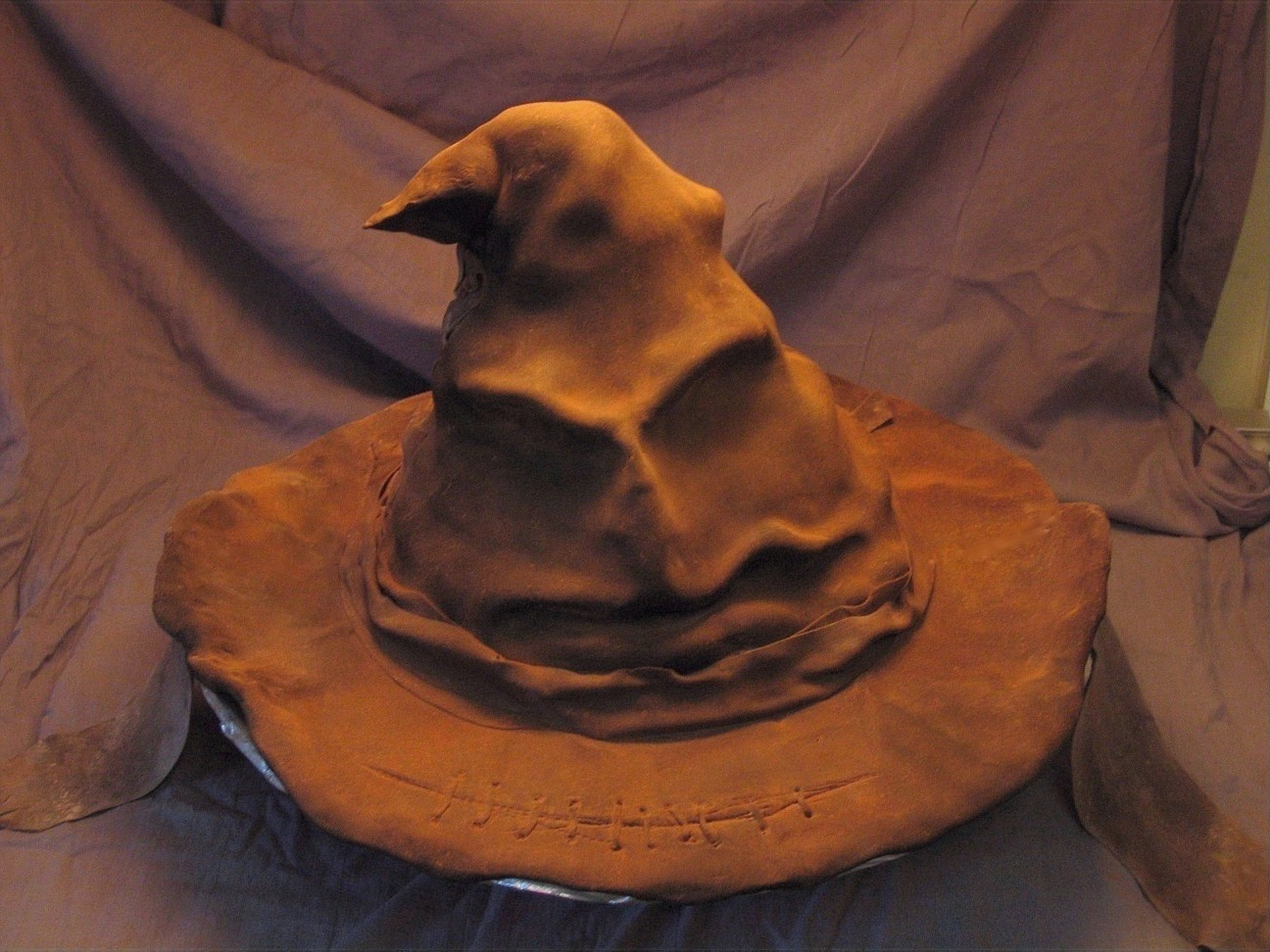 how to make a sorting hat cake
