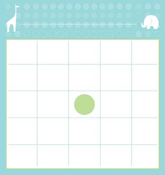 free baby bingo cards artisan cake company