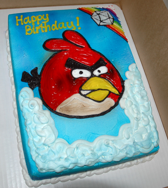 Images Of Angry Birds Cake : angry birds cakes & more ... More. ... on Pinterest ...