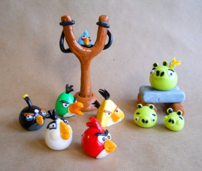 Angry Birds Edible Toppers
