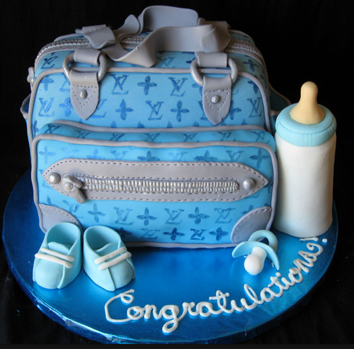 For This Diaper Bag Cake Little Boy The
