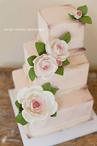 shabby chic cake ideas
