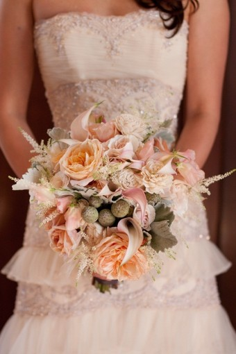 shabby chic bouquet ideas