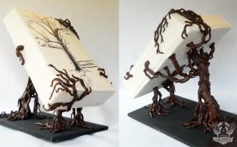 Book Release Cake