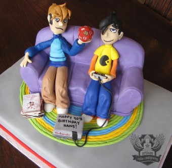 Penny Arcade Cake