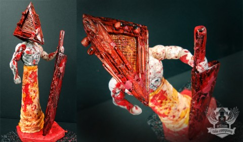 Pyramid Head Cake Topper