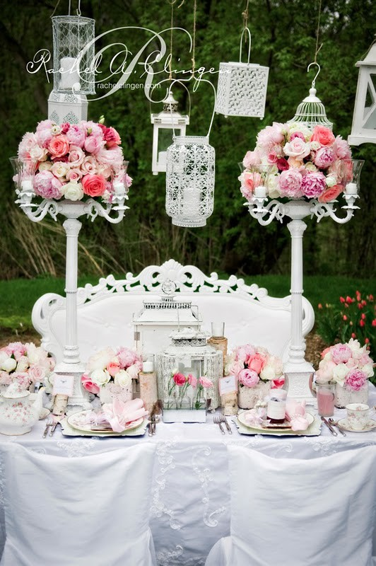 Shabby Chic Wedding Inspiration — Artisan Cake Company