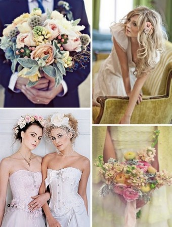 shabby chic wedding inspiration board