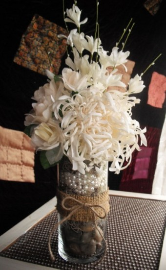 shabby chic bouquet idea