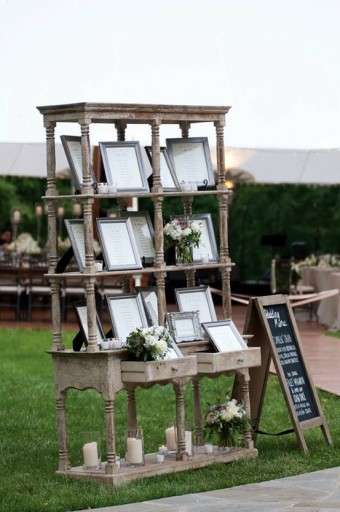 outdoor shabby chic wedding ideas