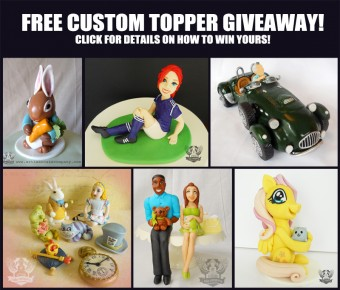 free toppers giveaway