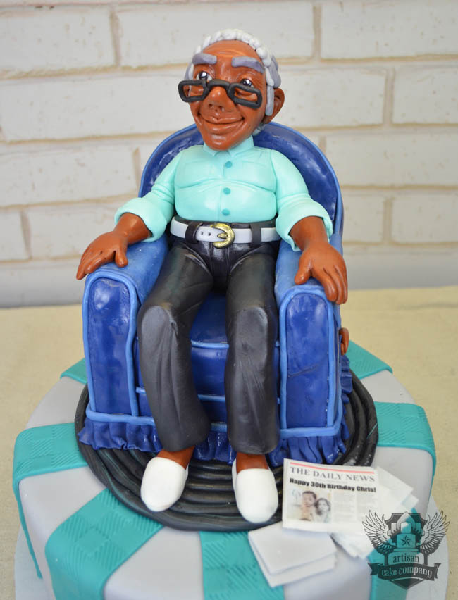 Old Man 30th Birthday Cake Artisan Cake Company