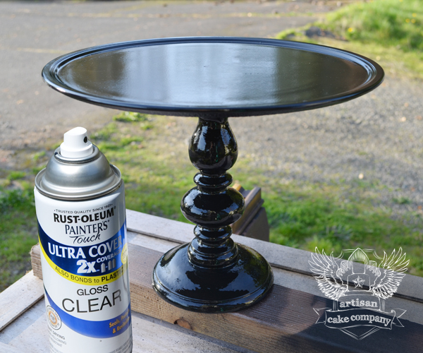 easy diy cake stands that look like the real thing. Black Bedroom Furniture Sets. Home Design Ideas