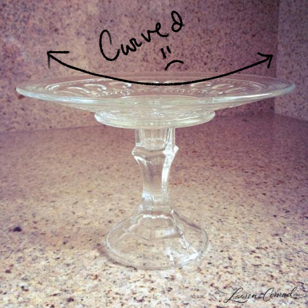 So I never took the plunge into the DIY cake stand world until now. While I was perusing the shelves searching for stands I noticed a huge stack of what ... : diy cake plate - pezcame.com