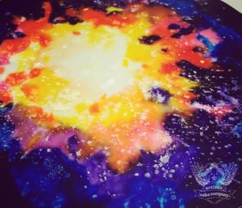 galaxy space board