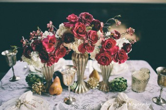 petalos floral table styling