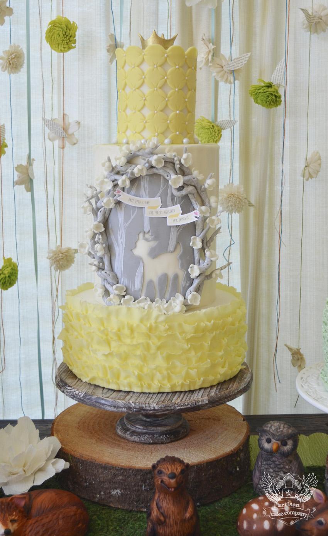 woodland baby shower artisan cake company