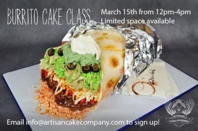 Burrito Cake Class