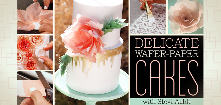 How To Make Wafer Paper Flowers Artisan Cake Company